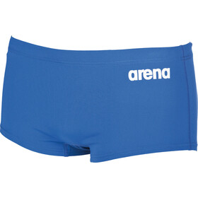 arena Solid Squared Korte Broek Heren, royal/white